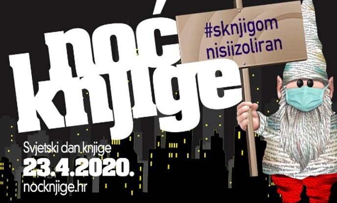 Banner Noć knjige 2020