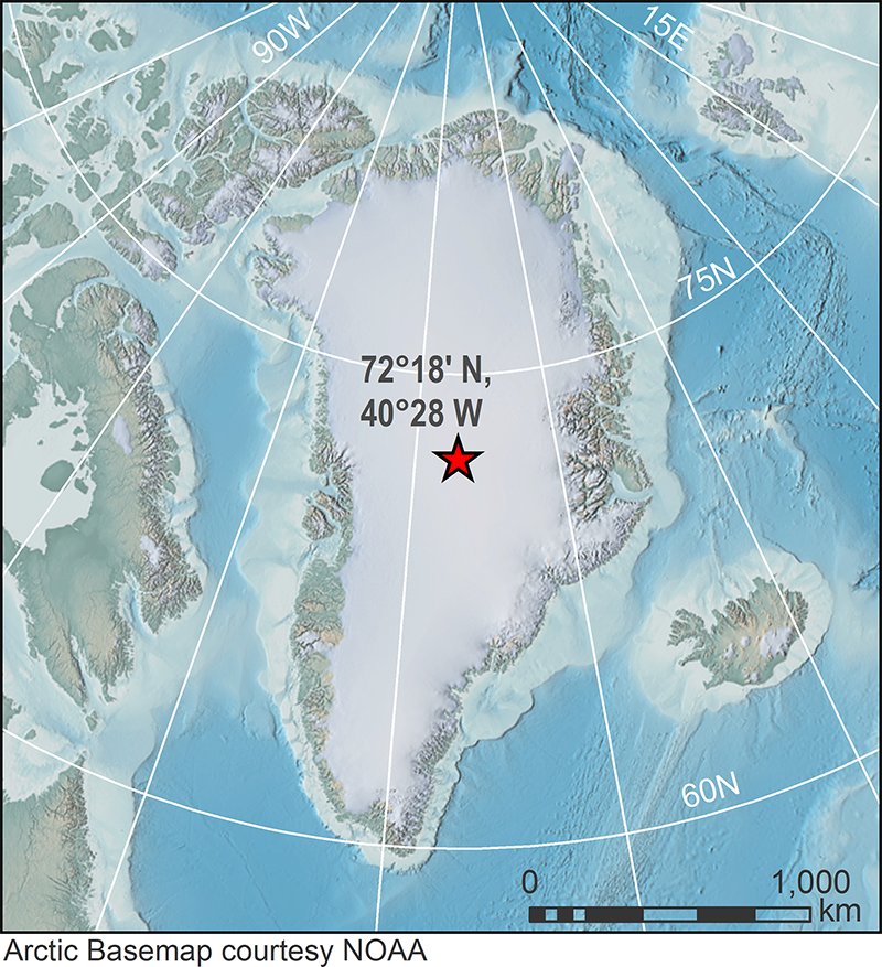 NOOA: Karta Arktičke baze