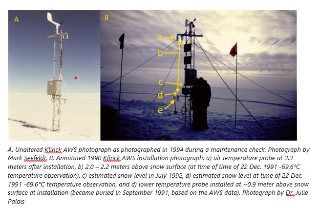 Automatska meteorološka postaja na Grenlandu