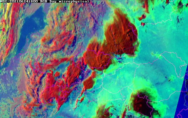 Satelitska slika u vidljivom dijelu spektra
