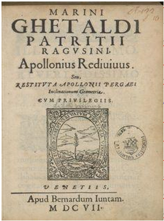 Naslovnica knjige Oživljeni Apolonije